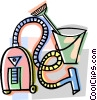 vacuum, cleaning equipment Vector Clip Art picture