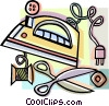Vector Clip Art picture  of a iron