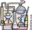 Vector Clip Art image  of a science equipment