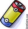 battery cell Vector Clipart image
