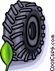 tractor tire Vector Clip Art picture