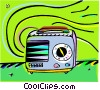 Vector Clipart graphic  of a radio