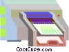 printer Vector Clipart image
