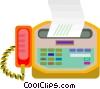 fax, phone Vector Clip Art picture