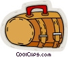 Vector Clip Art picture  of a hand bag