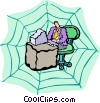 www, world wide web, internet Vector Clip Art picture