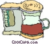 coffee machine, java Vector Clipart picture