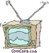 television, TV Vector Clip Art picture