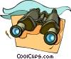 binoculars Vector Clipart picture