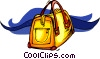 luggage, bag Vector Clip Art graphic