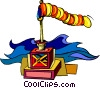 windsock Vector Clipart illustration