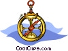 compass Vector Clipart graphic