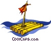 raft Vector Clip Art picture