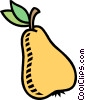 Vector Clipart image  of a pear