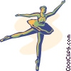 Vector Clipart illustration  of a ballet
