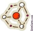 molecule Vector Clip Art picture