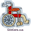 wheelchair Vector Clip Art image