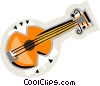 Vector Clip Art picture  of a guitar