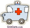 Vector Clipart picture  of an ambulance