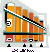 panpipes Vector Clipart illustration