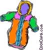 snowsuit Vector Clipart image