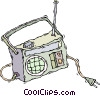 radio Vector Clipart picture