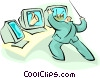 computers Vector Clipart illustration