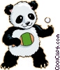 panda bear Vector Clip Art picture
