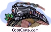 Steam locomotive Vector Clipart illustration