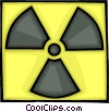 Vector Clipart picture  of a nuclear fallout symbol