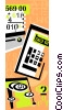 finance, calculator Vector Clipart picture