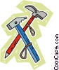 Vector Clipart graphic  of a climber's tools