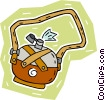 Vector Clipart graphic  of a canteen