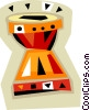 Vector Clipart illustration  of a bongos