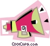 bullhorn, megaphone Vector Clip Art graphic