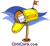 Vector Clipart image  of a mailbox