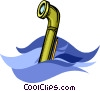 Vector Clipart illustration  of a periscope