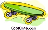 skateboard Vector Clip Art picture