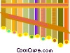 Vector Clip Art picture  of a pan flute