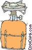 propane camp stove Vector Clip Art picture