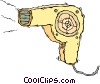 hair drier Vector Clip Art picture