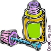 Vector Clipart image  of a glue bottle