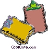 Vector Clipart picture  of a clipboard