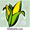cob of corn Vector Clipart picture
