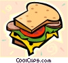 sandwich Vector Clip Art picture