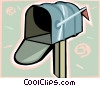Vector Clipart graphic  of a mailbox