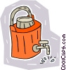water jug Vector Clipart picture