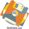 computer diskette Vector Clip Art picture