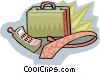 Vector Clip Art image  of a neck tie