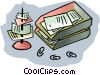 Vector Clipart picture  of a in-box